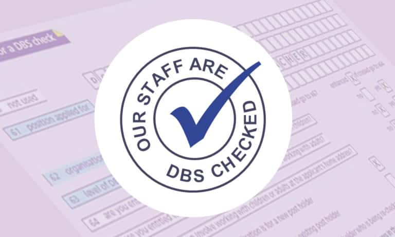 DBS Checked Cleaning Services Staff